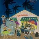 海の家 アクリルガッシュ hisayo azuma