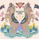 装う双子の馬