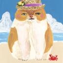 Beach cat アクリルガッシュ hisayo azuma