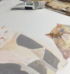 猫 イラスト 東久世 動物