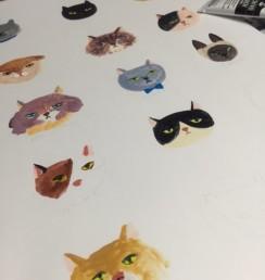 東久世 猫 イラスト 動物